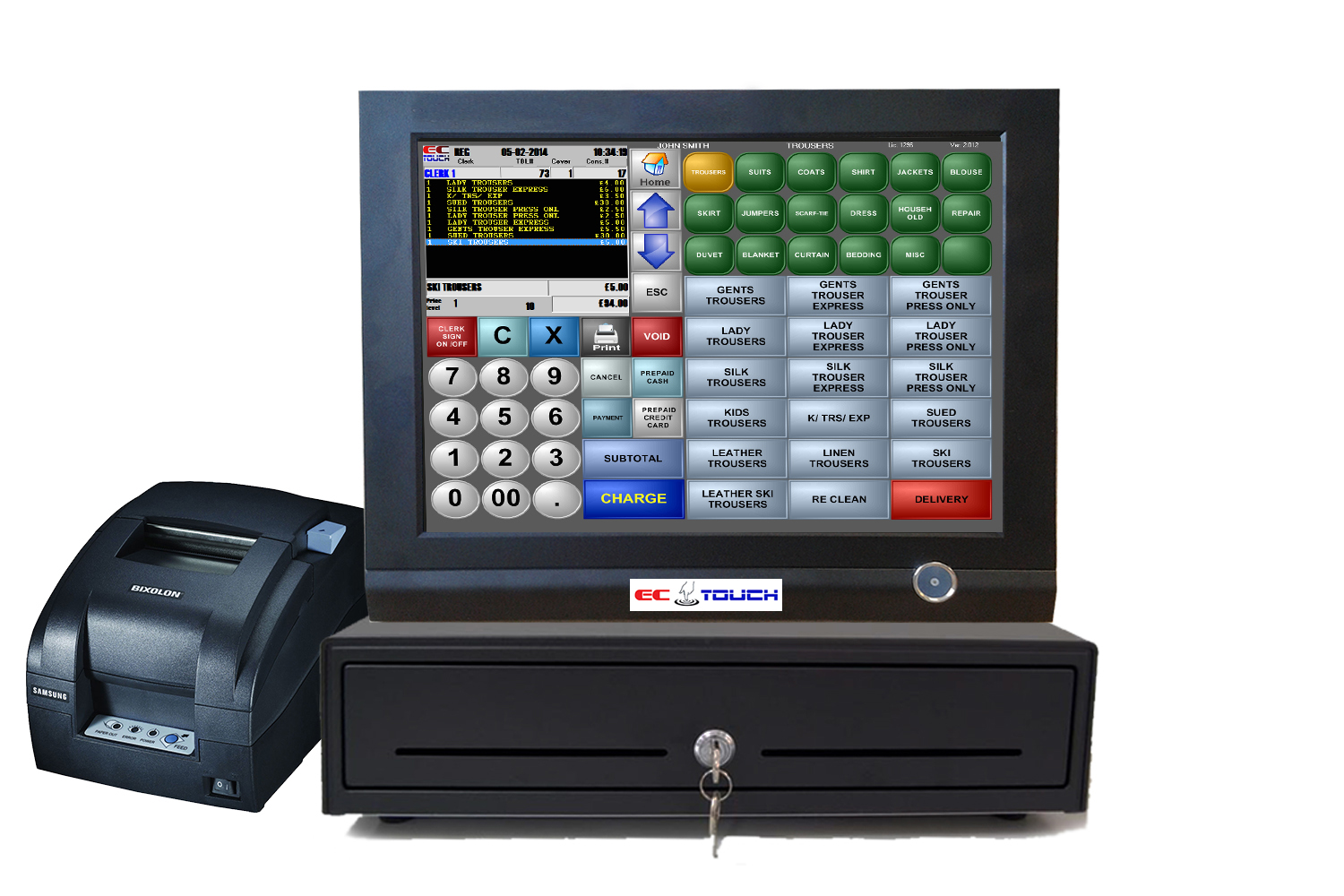Best Epos Systems Amp Software For Dry Cleaners Business