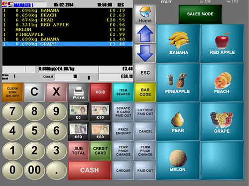 Supermarkets Epos Systems Control Terminals From Anywhere