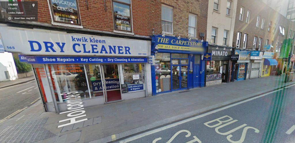 KwikKleen Dry Cleaner epos
