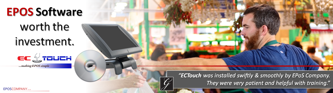 ECTouch Software Page  (Info Banner)