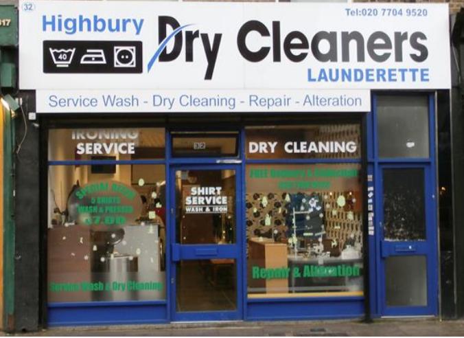 Highbury Dry Cleaners