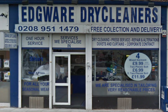 edware drycleaner